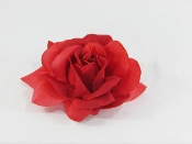 Varigated Red Rose Decor - Red Hat Society Ladies Accessory