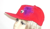 Red Baseball Cap, Red Hat Society Ladies baseball cap, Baseball cap