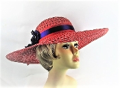 Prolific Posies Red Hat - Red Hat Society Ladies Hat