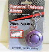 Personal Safety Alarm, Key Chain, Flashlight