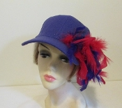 Perky Purple Baseball Cap