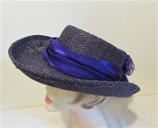 Proper In Purple Gambler Style Red Hat Society Lady Hat